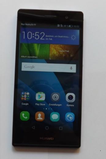 Huawei Ascend P7 L10 schwarz Neuzustand Garantie