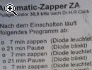 Beck-Zapper, Automatik Zapper ZA mit Kosi - Vorschaubild 1