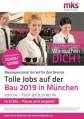 München – Servicejobs auf der BAU vom 14.-19.01.19