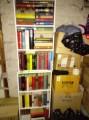 Bücher quer Beet