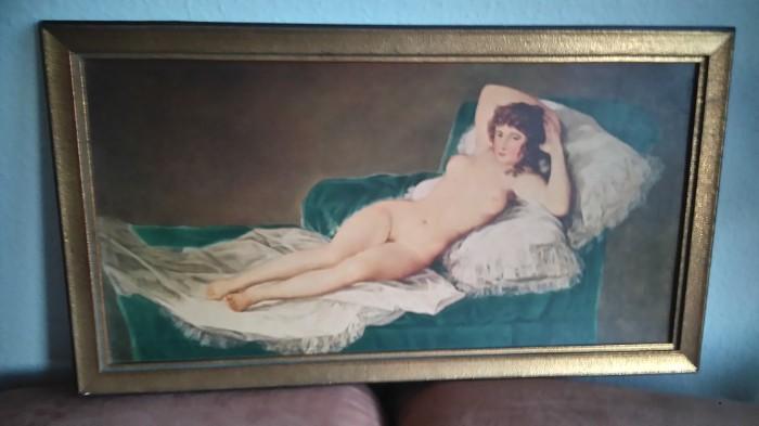 Die nackte Maja v.Goya