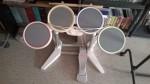 Wii Schlagzeug Rockband + Spiel Song Pack 1