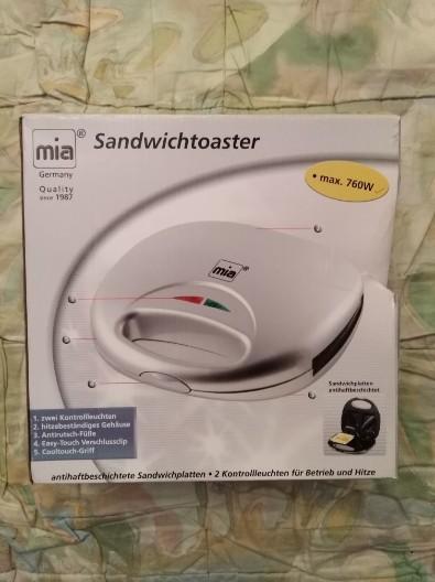 Sandwich-Toaster Ever Toast von Mia